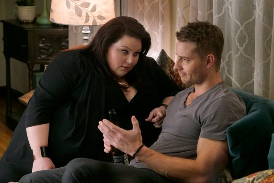 Kate (Chrissy Metz) and Kevin (Justin Hartley)
