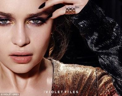 "Emilia Clarke in ""The Violet Files"""