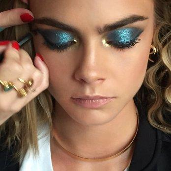 Makeup Artist Lisa Eldridge on Cara Delevingne
