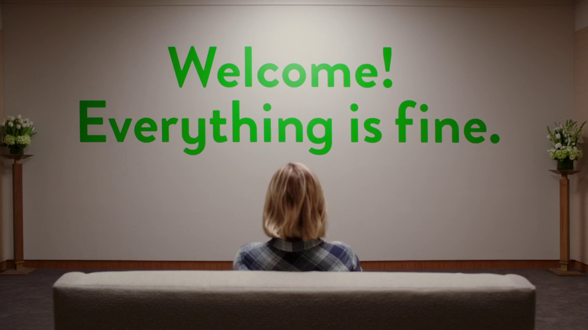 "Welcome! Everything is fine!"" – The Good Place – Season 1 ..."